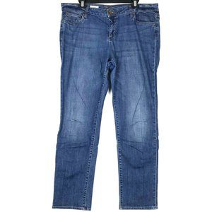 Blue Kut from the Kloth Jeans Size 14 Straight Leg